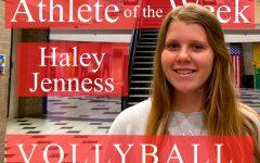 Week 2: Haley Jenness varsity volleyball