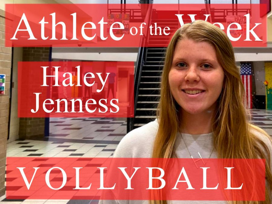 Week 2: Haley Jenness varsity volleyball