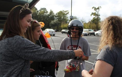 Exceptional Warriors Club hosts trunk or treat