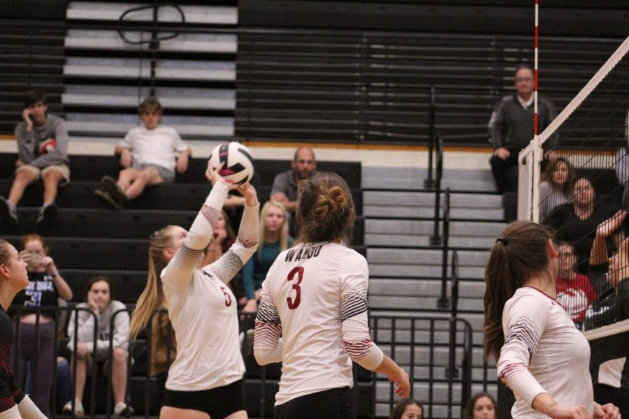 Volleyball defeats St. James 3-0