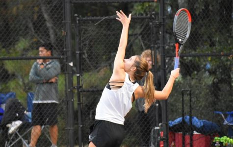 Girls tennis defeated in final match of season