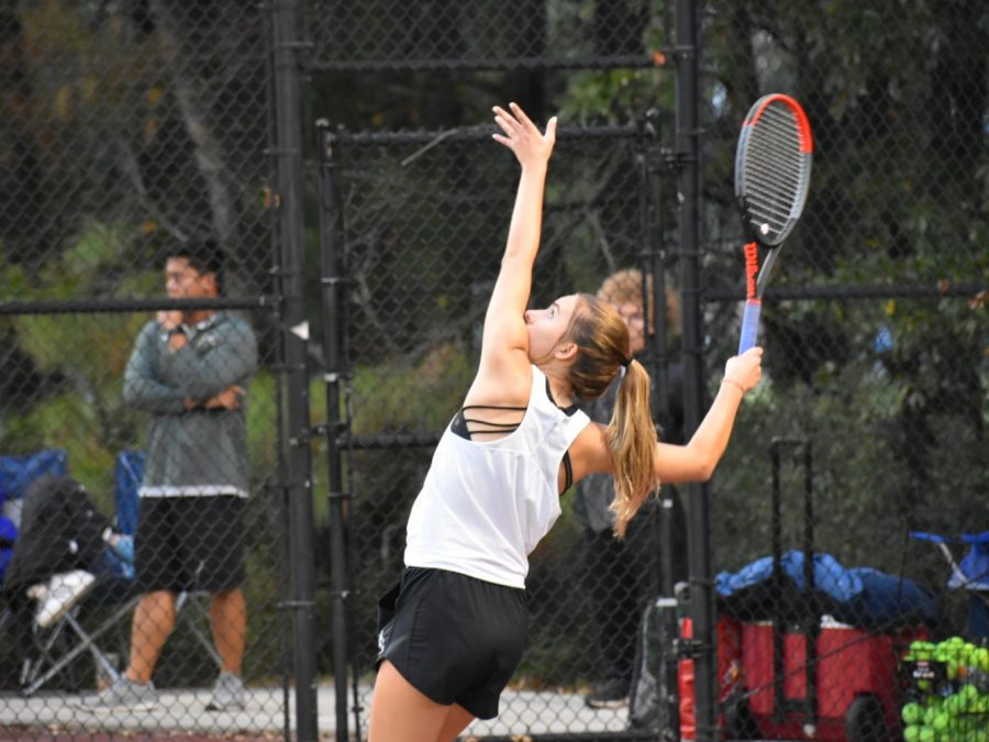 Girls tennis defeated in final match of season