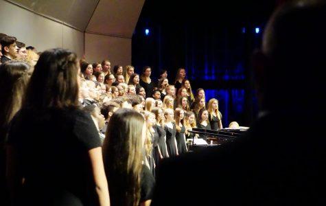 Wando Singers, Concert Choir and Men's Choir perform at winter concert