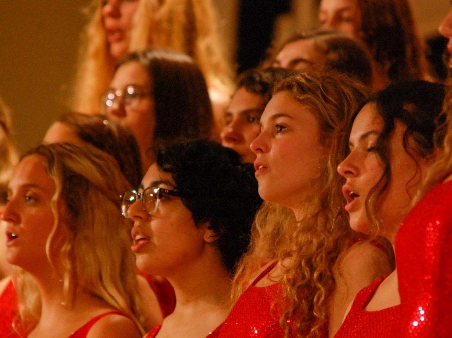 Wando Chorus Bella Voce and Show Choir perform at Christ Church