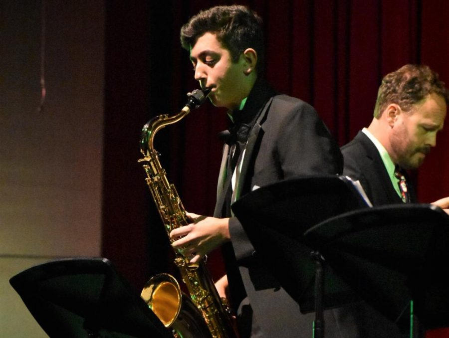 Band performs their annual holiday concert Dec. 12