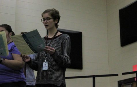 "Student raising awareness for human trafficking through ""Dressember"""