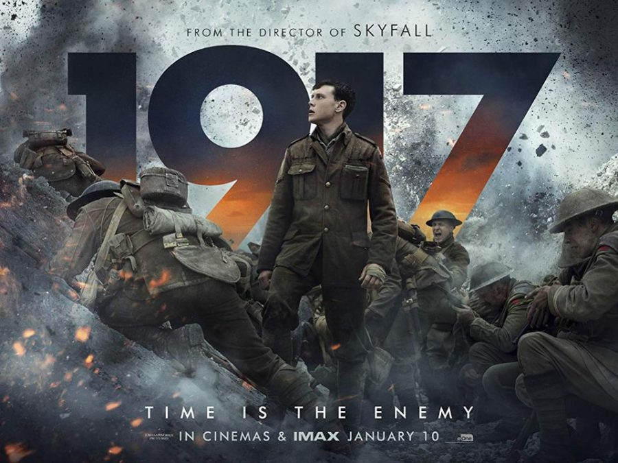 1917 best war movie since Dunkirk