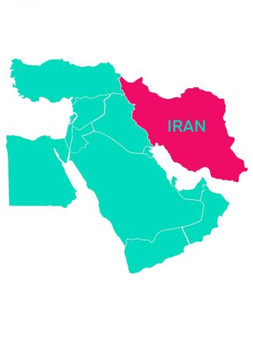 The struggle between the USA and Iran