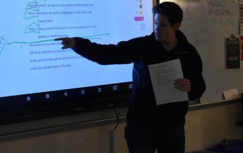 Shannon MacAulay's awarded Teacher of the Month for January 2020