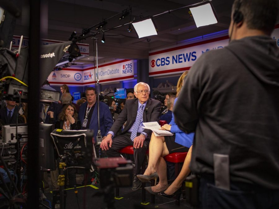 Presidential Candidate Bernie Sanders in a CNN interview after the debate.