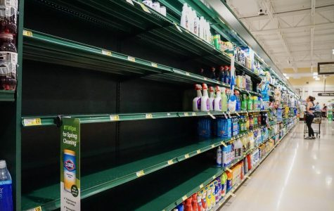 Gallery: Coronavirus leaving shelves empty