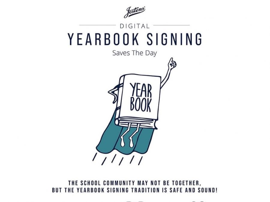 Josten's and Legends Yearbook to hold digital yearbook signing