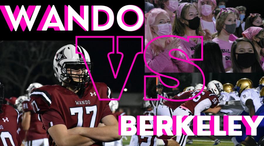Wando vs. Berkeley Football Game Video