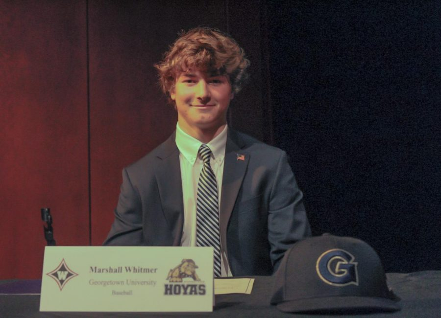 Marshall Whitmer signs to Georgetown University.