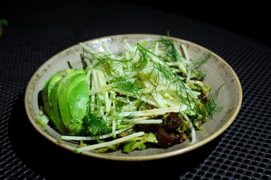An avocado dish from Butcher and the Bee.