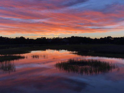 Sunsets on the water make Charleston Charleston.